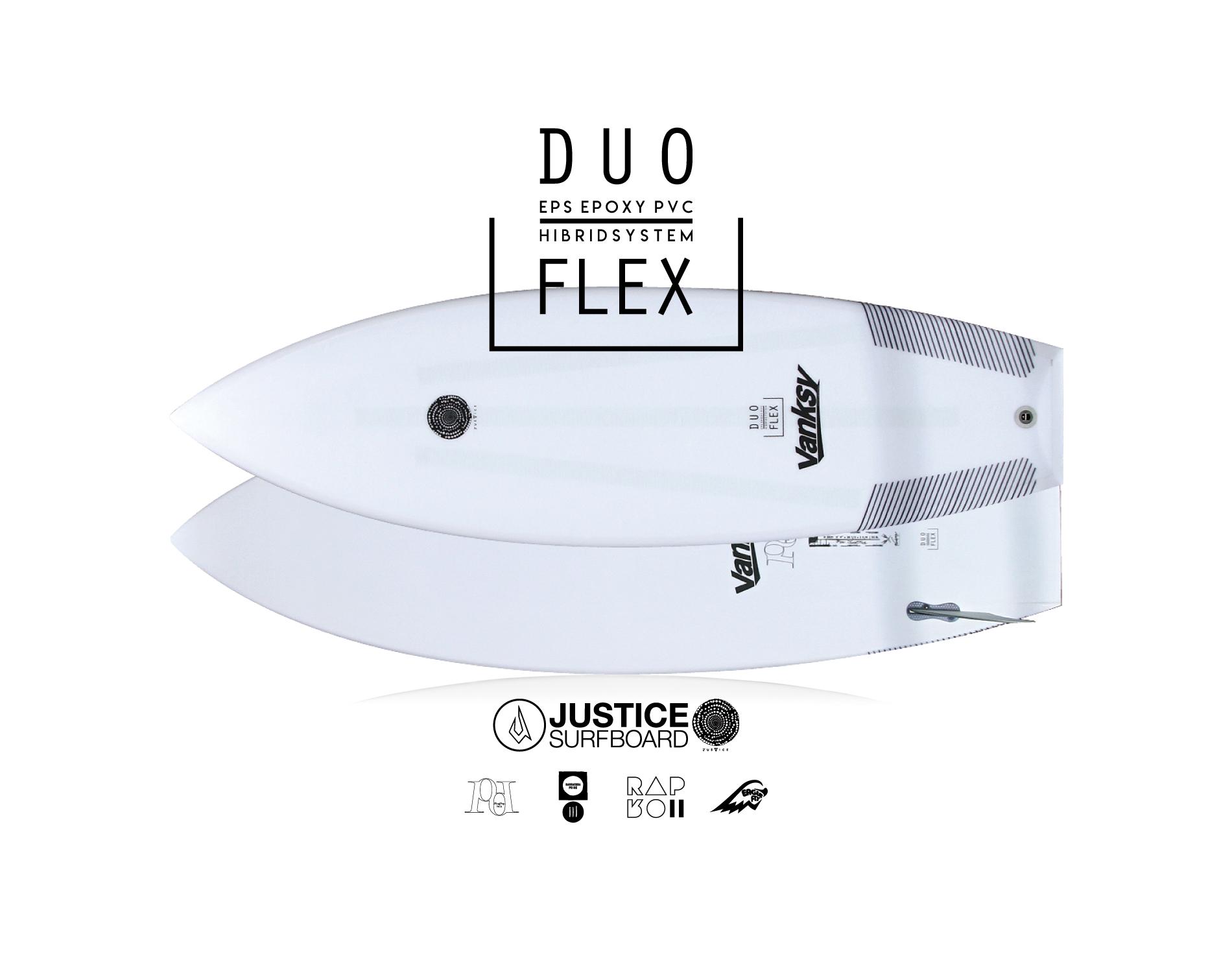 ジャスティスサーフボード  DUOFLEX